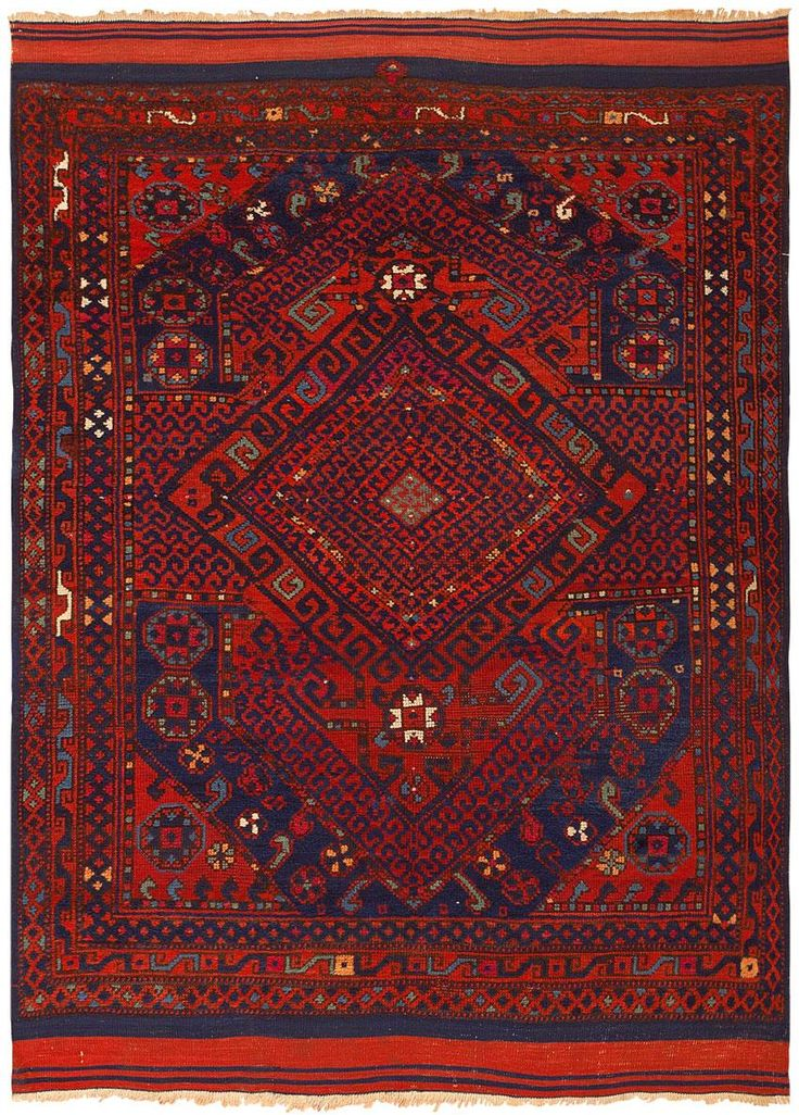 Antique Yuncu Rug 46221 Main Image - By Nazmiyal