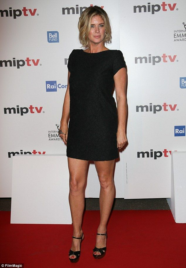 Hot property: Rachel Hunter has enjoyed a successful modelling career, appearing on the co...