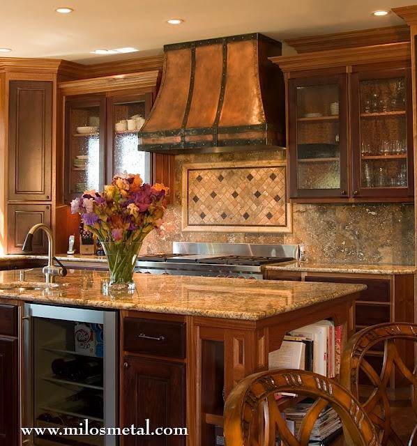 Kitchen Hood Decoration: Best 25+ Copper Hood Ideas On Pinterest