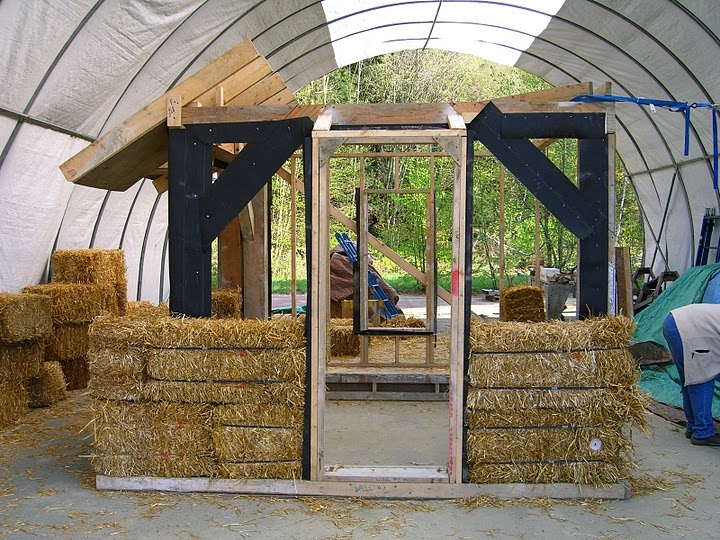 19 best straw bale building images on pinterest straw for Straw bale house cost per square foot