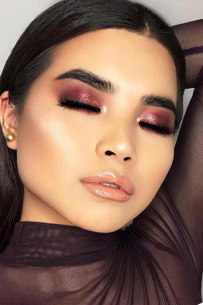 Eyemakeup that looks beautiful! smokeyeyemakeup Asian