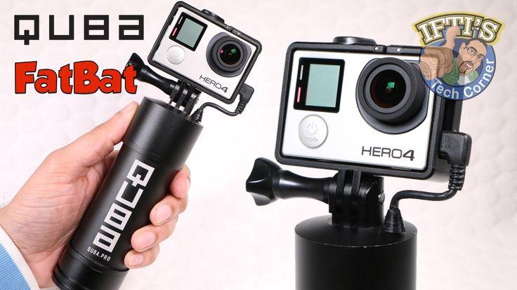 Quba Pro FATBAT Battery Powered GoPro Handgrip + More