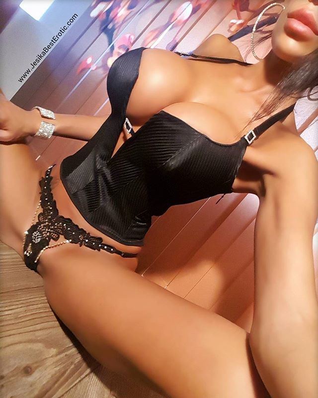 nude women in leather lingerie