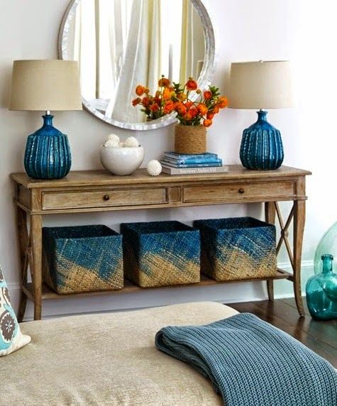 DIY Wicker Basket Ideas with Paint