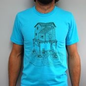 Waterhouse on turquoise   $25