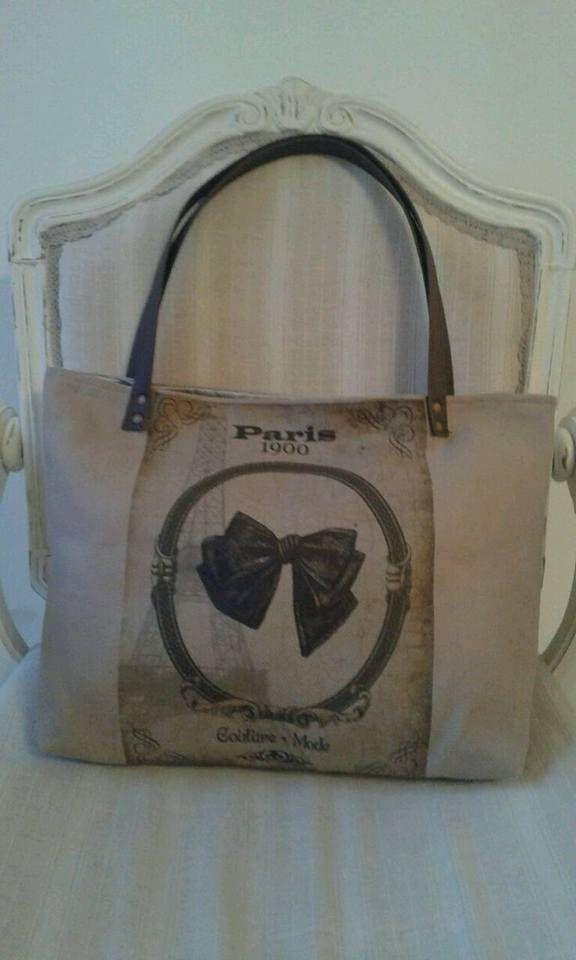 la bag, shopper, tote , borsa romantica di leborsedilucia su Etsy