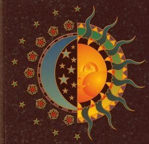 sun, moon, and stars