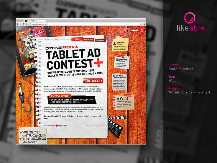 #LikeableDesign #MartijnKoudijs #WebDesign #GraphicDesign #Adobe www.likeable.nl