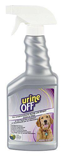 Aus der Kategorie Flecken- & Geruchsentferner  gibt es, zum Preis von EUR 16,40  Urine Off für ausgewachsene Hunde und Welpen<br /><br />- beseitigt Urinflecken <br />- auch alte! sicher in der Anwendung für Mensch und Tier <br />- entfernt Harnsäurekristalle und beseitigt so den Hauptauslösemechanismus für ein Markieren des Tieres <br />- keine Überdeckung des Geruchs durch Parfümstoffe <br />- sondern Beseitigung aller wesentlichen Urinbestandteile<br /><br />Allgemeine Hinweise: VOR…