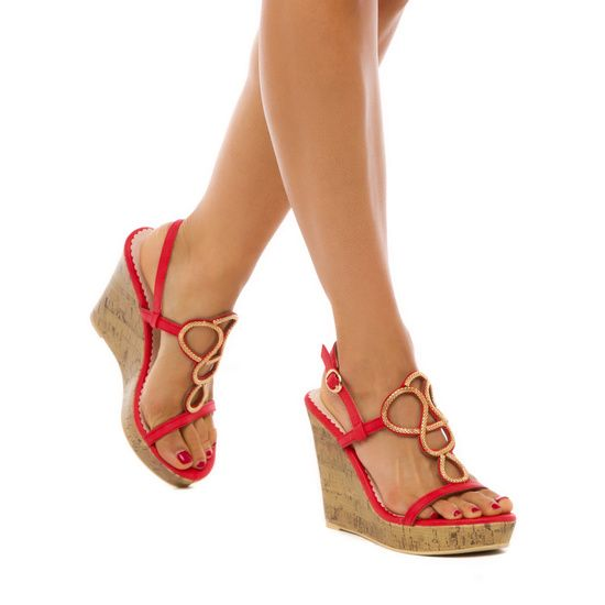 Idalia - ShoeDazzle- These fun wedges are perfect for summer outings.