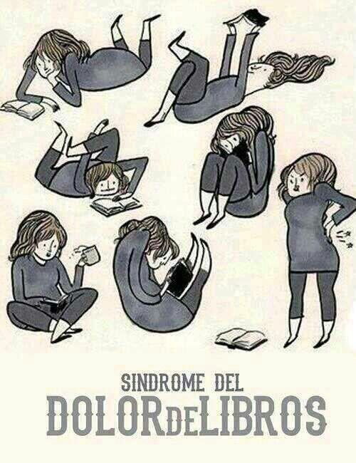 Sindrome de libros... y quien no ha pasado por esto?                                                                                                                                                     Más
