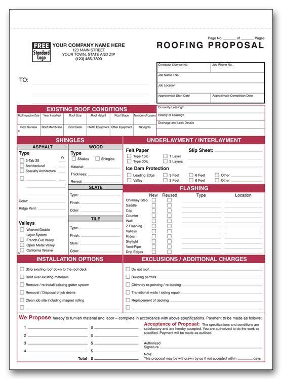 printable billing forms
