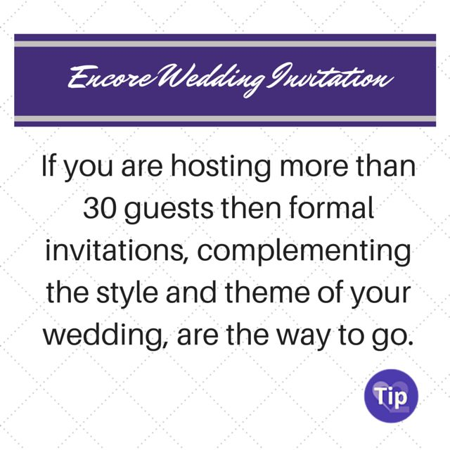 Wedding Stationary Tips