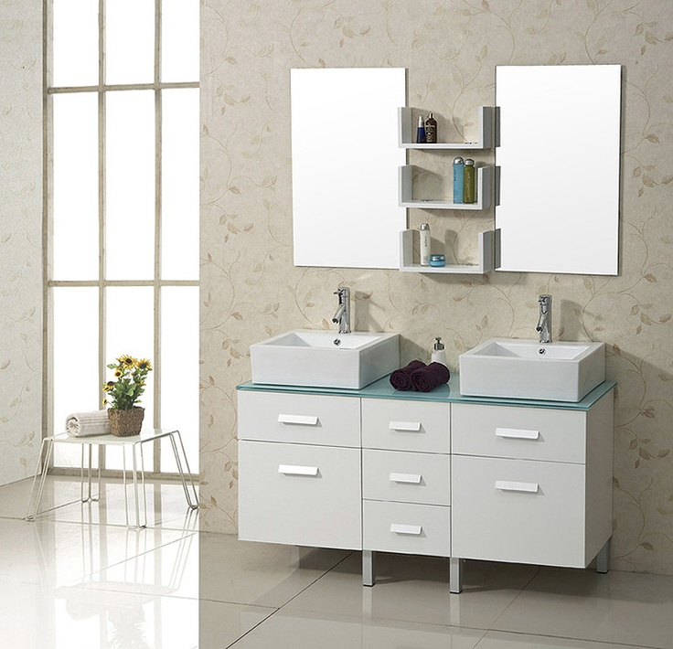 Bathroom Sinks Usa 152 best double modern bathroom vanities images on pinterest