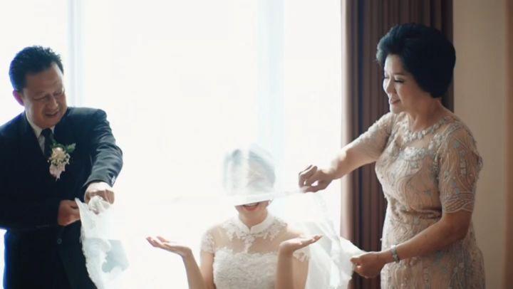 Die perfekte Hochzeit von Angga @xieanka & Vani @ mariaivana27 20. Oktober 2019. Tha …   – weddingdress