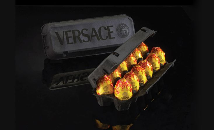 Versace easter eggs | Peddy Mergui