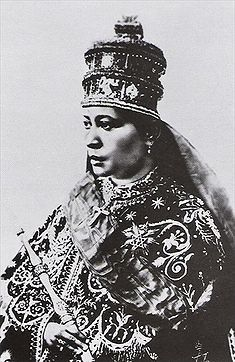 Empress Zewditu was the daughter of Emperor Menelik II, by Woizero Abechi, a woman of mid-level nobility, born shortly after Menelik returned to Shewa following his captivity at Magdalla. Woizero Abechi died while Zewditu was still a very young child, so Zewditu was raised by her father, in the care of nannies, and was closer to him than any other person.