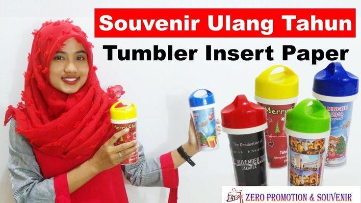 Review Souvenir Ulang Tahun Tumbler Insert Paper