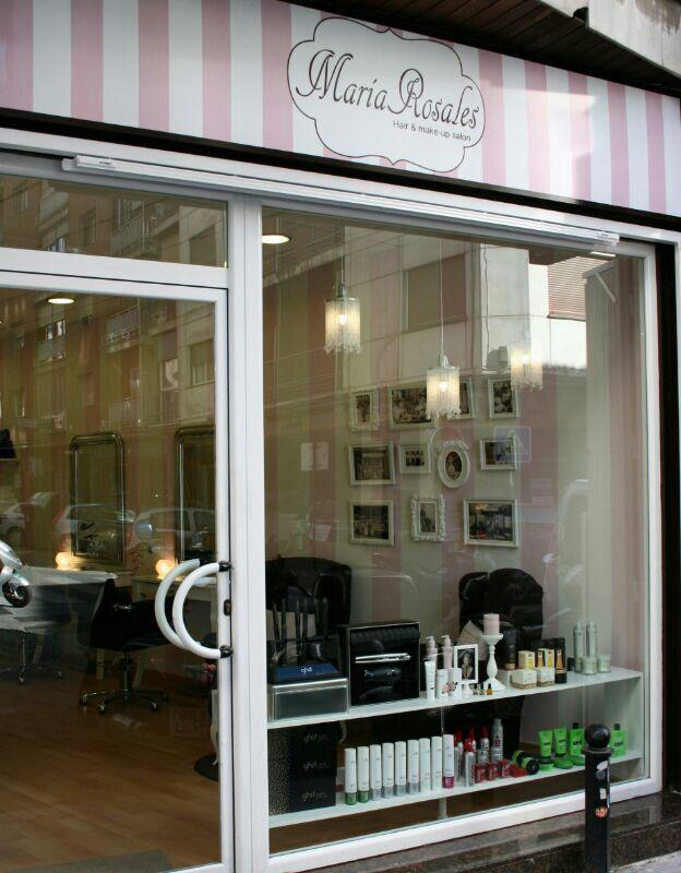 Fachada de mi peluquería   Diseño de salón de belleza ...