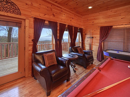 Luxury Vacation Living In A Rental Cabin In Gatlinburg Falls Hidden Valley  Resort, With Breathtaking. Smoky Mountain ...