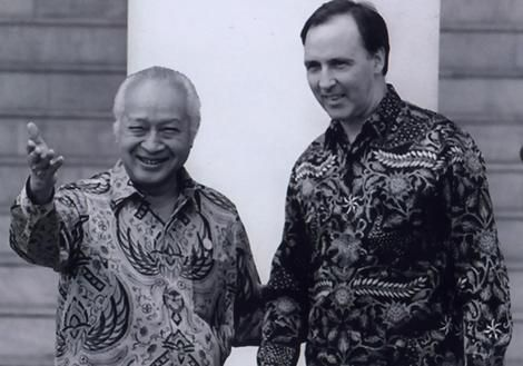 Soeharto - Keating. APEC Conference 1994 get more only on http://freefacebookcovers.net
