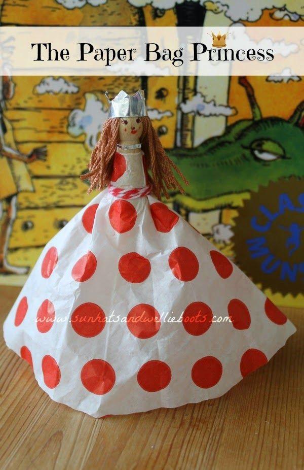 Make your own Paper Bag Princess