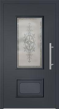 kunststoff haust r modell johanna3 anthrazitgrau vor der t r pinterest. Black Bedroom Furniture Sets. Home Design Ideas