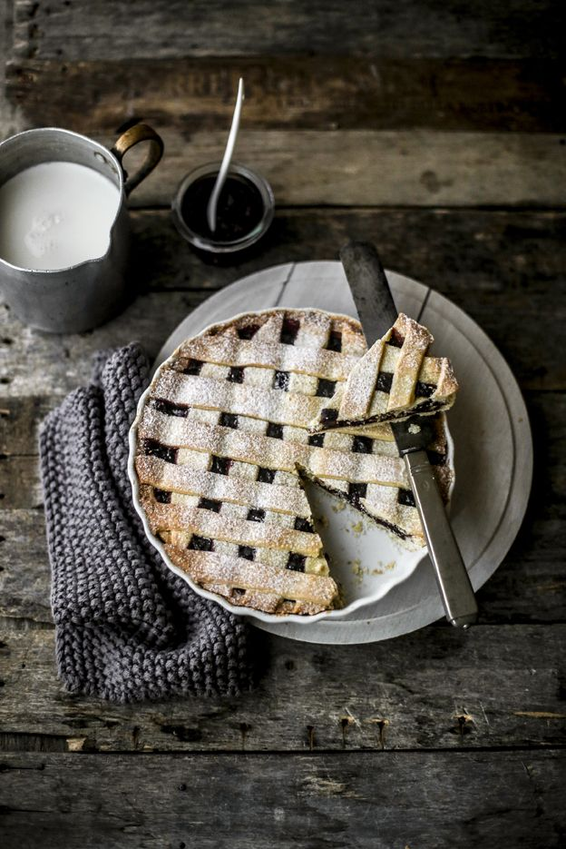 - VANIGLIA - storie di cucina: La crostata con la marmellata di more e mele fatta in casa