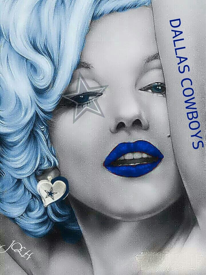 Marilyn Monroe (MM) Dallas Cowboys http://dunway.us