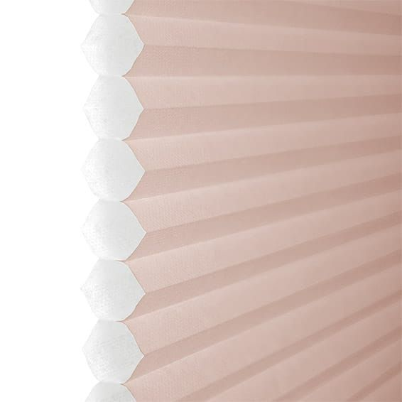 Duolight Dusky Pink Thermal Blind Bathroom Thermal