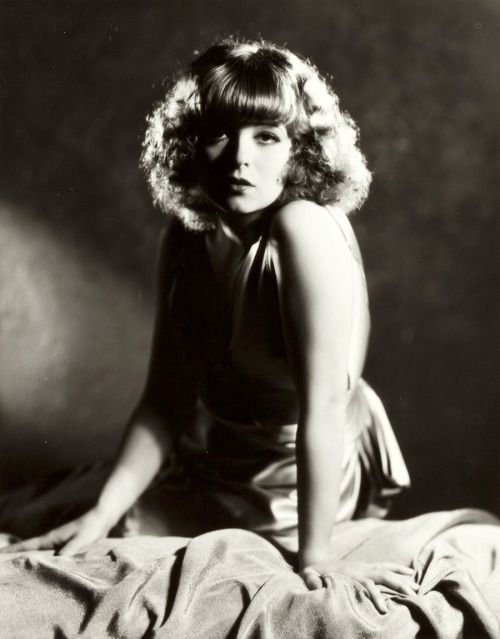 Clara Bow photographed for Call Her Savage, 1932
