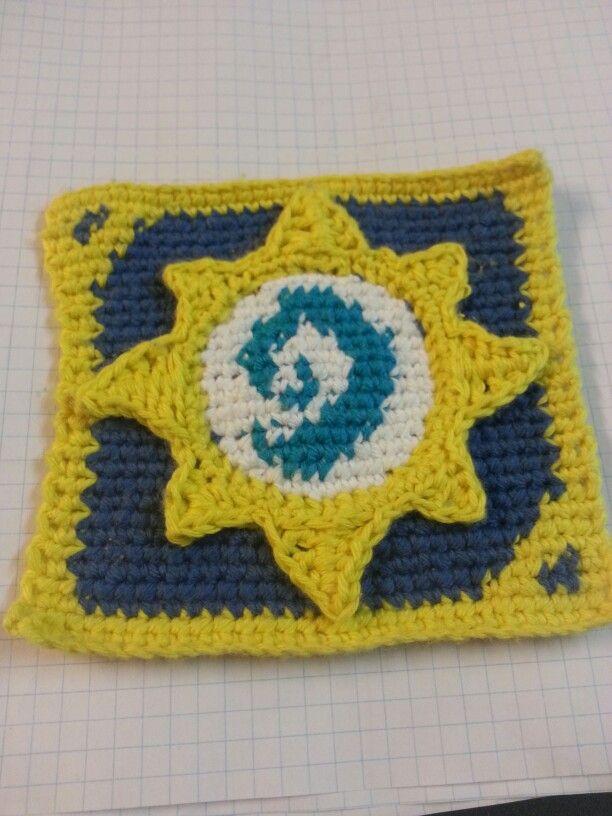 Hearthstone loge crochet