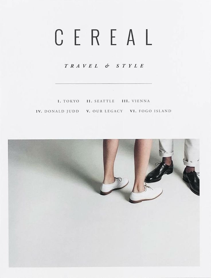 The Stack interview: Cereal magazine