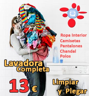 Limpiar lavadora completa Tintoreria Conchi