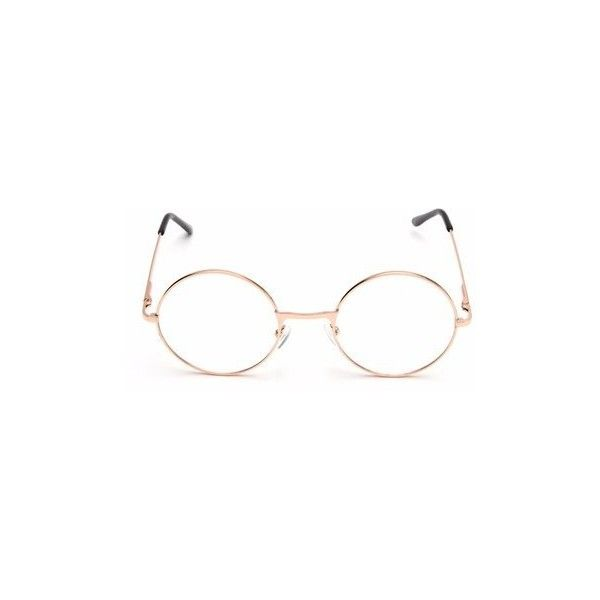 Vintage Round Circle Clear Lens Eyeglasses ($5.41) ❤ liked on Polyvore featuring men's fashion, men's accessories, men's eyewear, men's eyeglasses, mens round eyeglasses and vintage mens eyeglasses