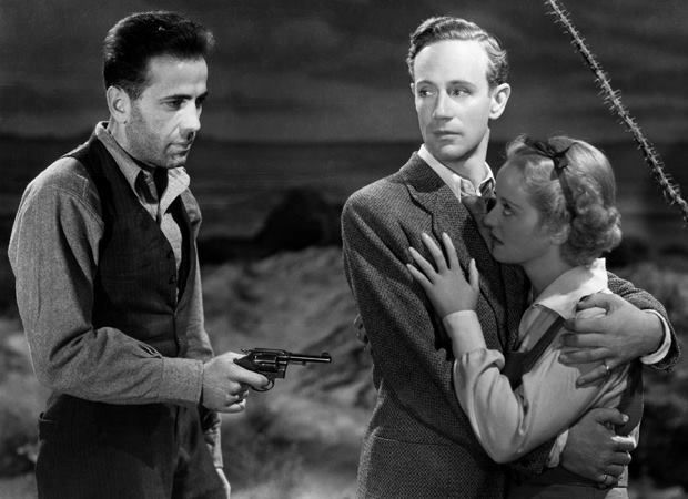 The Petrified Forest (1936)  Humphrey Bogart, Leslie Howard & Bette Davis