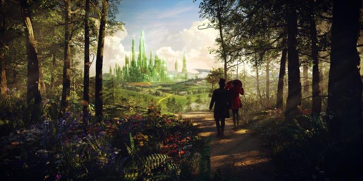 Oz und Theodora auf dem Weg in die Smaragdstadt I #OZ ©Disney
