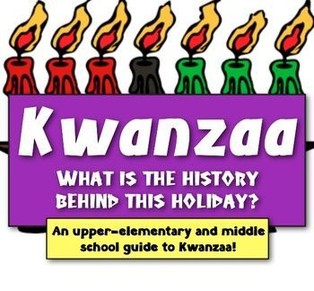 Kwanzaa: What is the History behind this ... | $3-$5: TeachersPayTeac… Kwanzaa: What is the History behind this Holiday? (A guide to Kwanzaa...