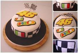 Afbeeldingsresultaat voor cake valentino rossi