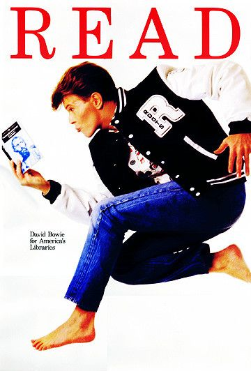 David Bowie for America's Libraries #leggereèfico