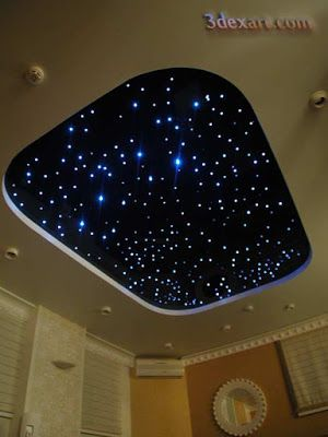 187 best stretch ceilings images on pinterest light design fiber optic star ceiling starry sky stretch ceiling lighting ideas step by step to make mozeypictures Images