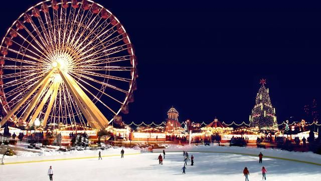 Winter Wonderland in London - 25 Winter Fantasy Vacations for Kids