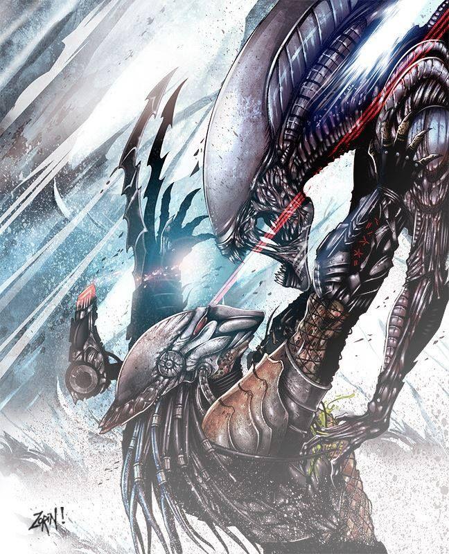 aliensandpredators:  This is quite good