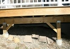 Best 25 Deck Footings Ideas On Pinterest Building A