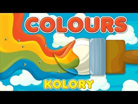 Nauka kolorów dla dzieci - angielski z przykładami - LEKTOR