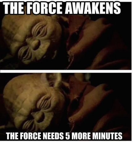 Sleep Wars. Yes! 5 minutes more if does.