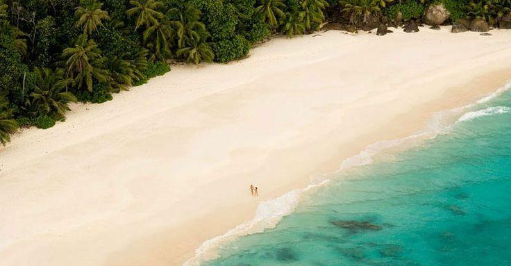 Gdzie George Clooney i Amal Alamuddin spędzają podróż poślubną - North Island na Seszelach