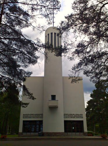 jknaus - Kannonkosken kirkko (Pauli E. Blomstedt,1938), 29.6.2008