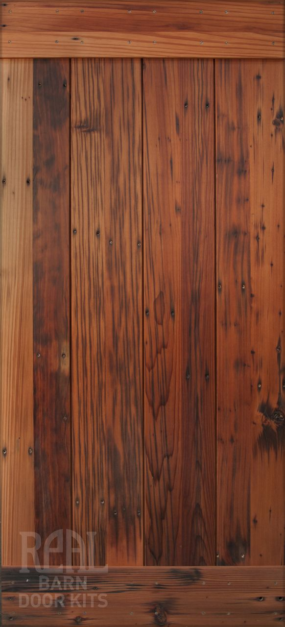 Reclaimed Redwood Barn Door Limited Edition Real