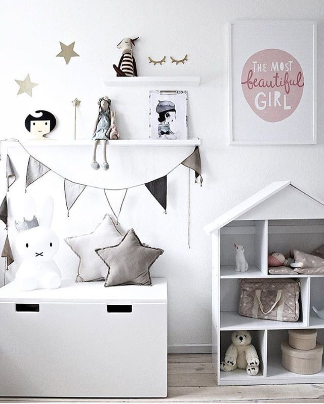 Scandinavian kids room via Is To Me